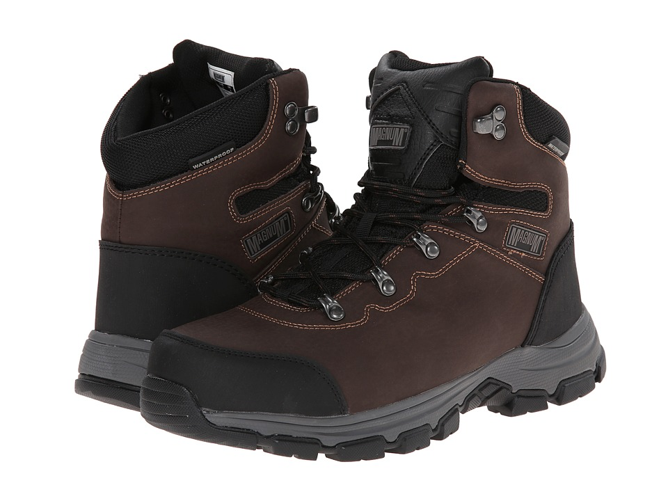Magnum Austin 6.0 ST Coffee Mens Work Boots