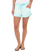 Peace Love World - Boyfriend Comfy Shorts