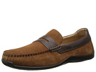 Geox U Xence Mox 8 (Taupe/Coffee) Men's Slip on Shoes