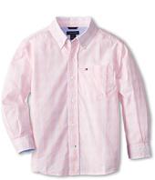 Tommy Hilfiger Kids - Mander Gingham Woven Shirt (Toddler/Little Kids)