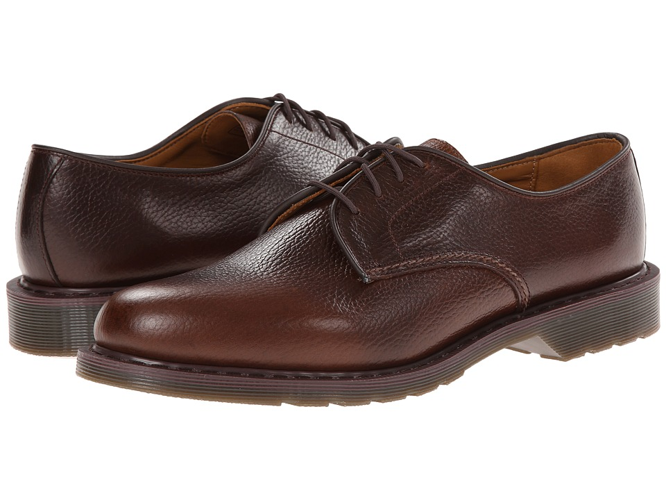 Dr. Martens - Octavius Lace Shoe (Dark Brown New Nova) Men