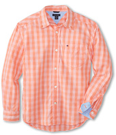 Tommy Hilfiger Kids - Mander Gingham Woven Shirt (Big Kids)