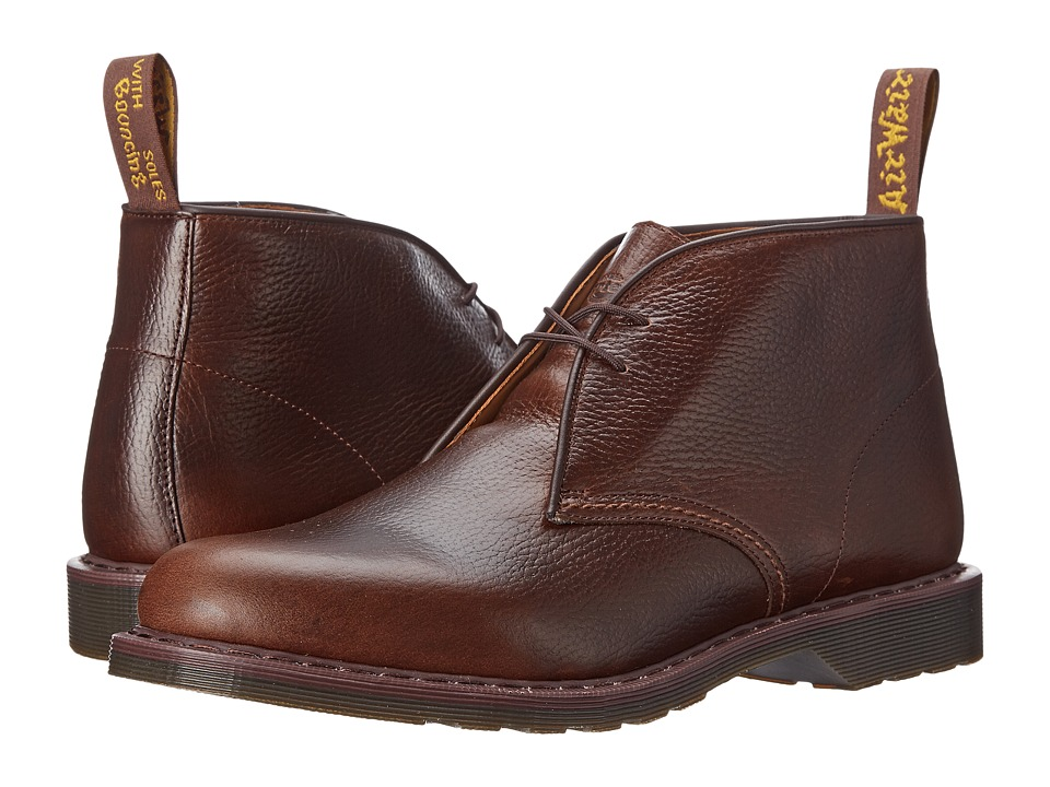 Dr. Martens - Sawyer Desert Boot (Dark Brown New Nova) Men