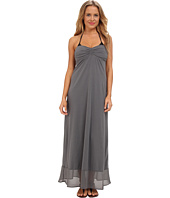 Tommy Bahama - Knit & Chiffon Shirred Bandeau Long Maxi Dress Cover-Up
