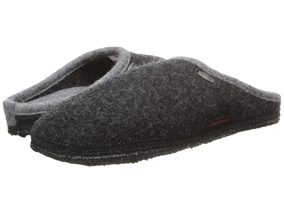 Giesswein Abend Charcoal Slippers
