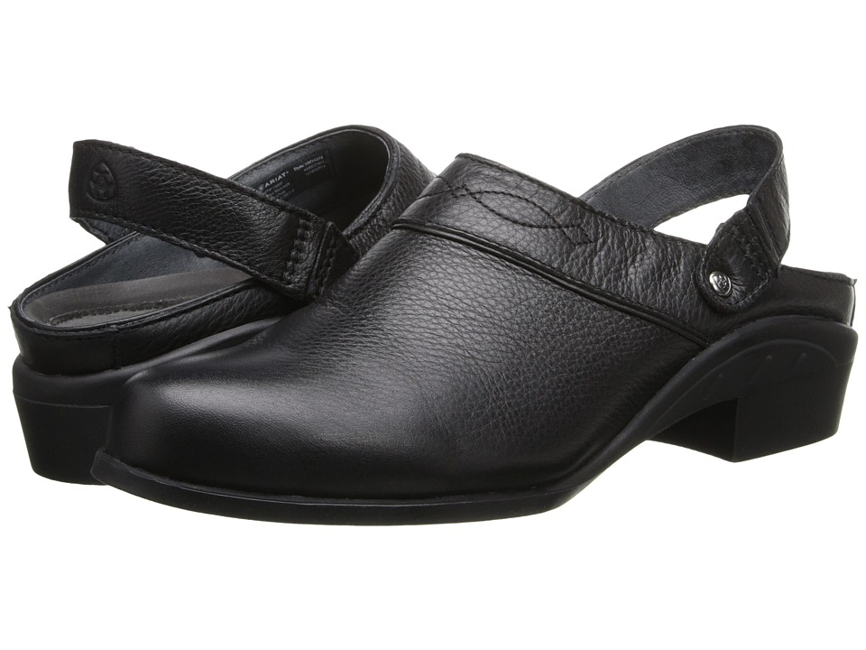 Ariat Sport Mule (Black Deertan) Women's Clog/Mule Shoes
