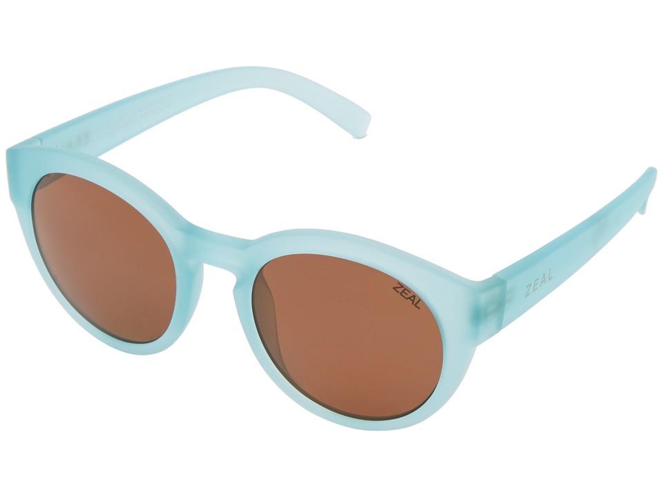 Zeal Optics Fleetwood (Telegraph Blue w/ Polarized Copper Lens) Goggles