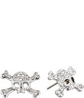 Vivienne Westwood - Diamante Skull Stud Earrings