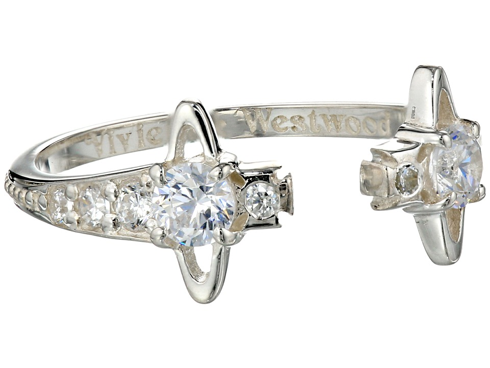 Vivienne Westwood - Reina Ring (Silver/Crystal) Ring