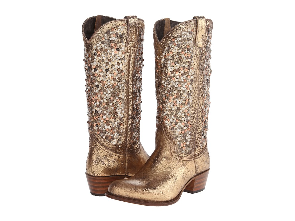 Gold Cowgirl Boots - Boot Ri