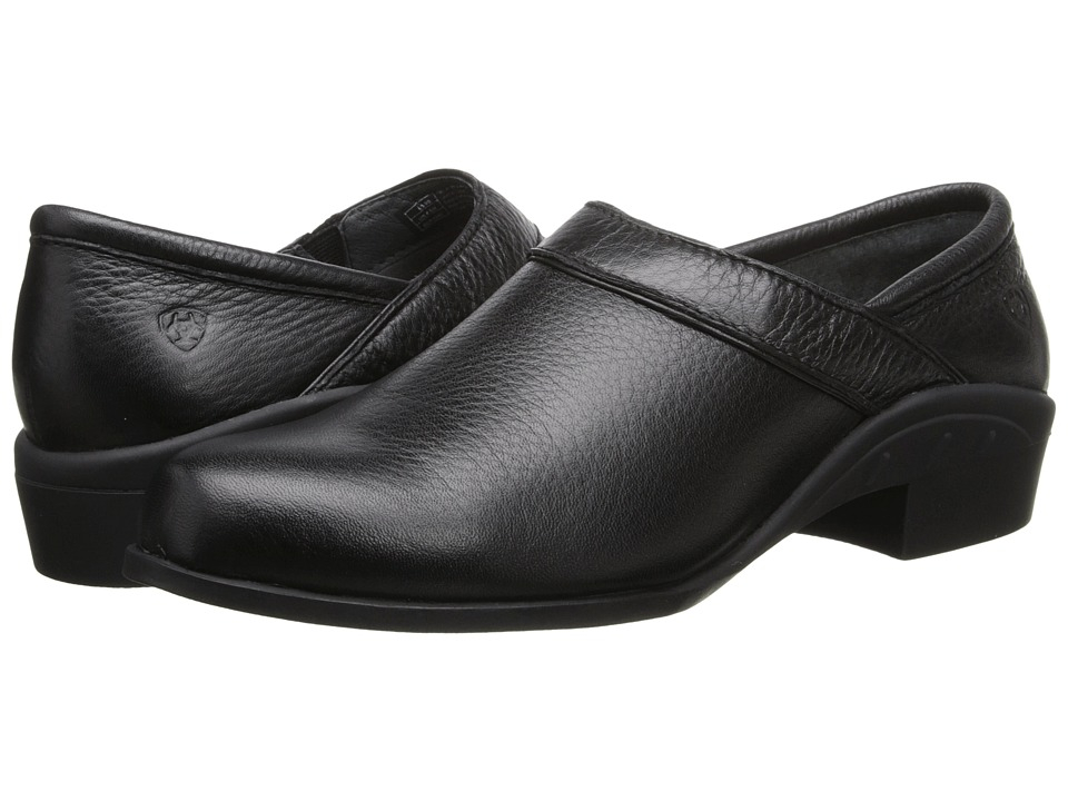 Ariat Sport Clog (Black Deertan) Women