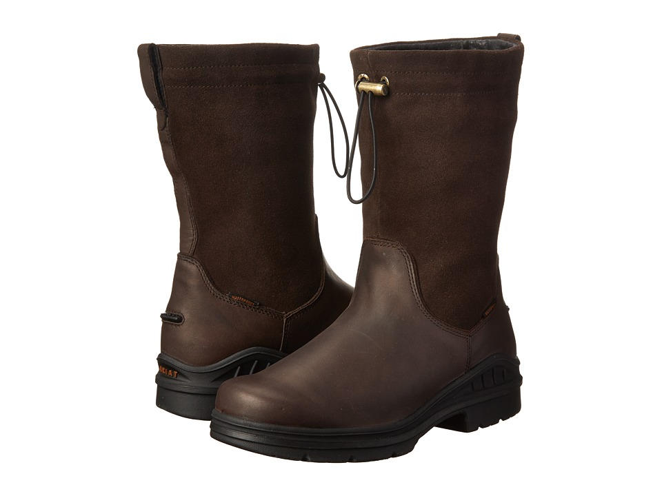 Ariat - Barnyard Belle H20 (Dark Brown) Women