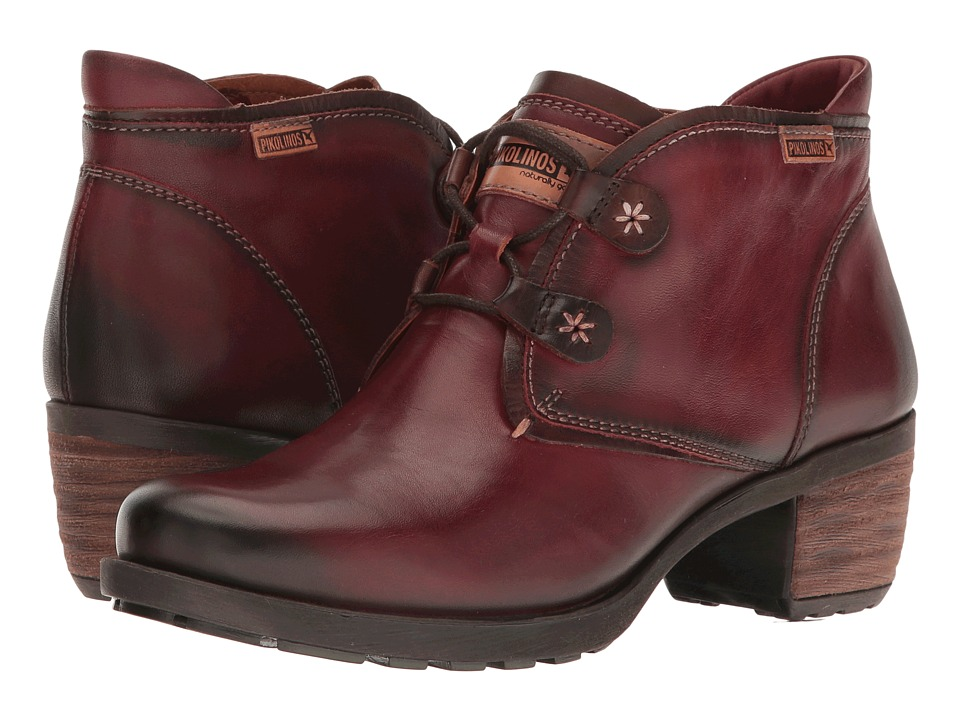 Pikolinos - Le Mans 838-8657 (Arcilla) Womens Lace-up Boots