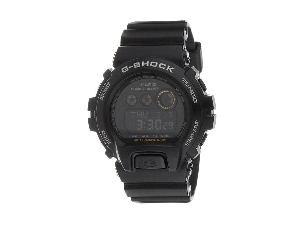 G Shock XL 6900 Black/Black Sport Watches