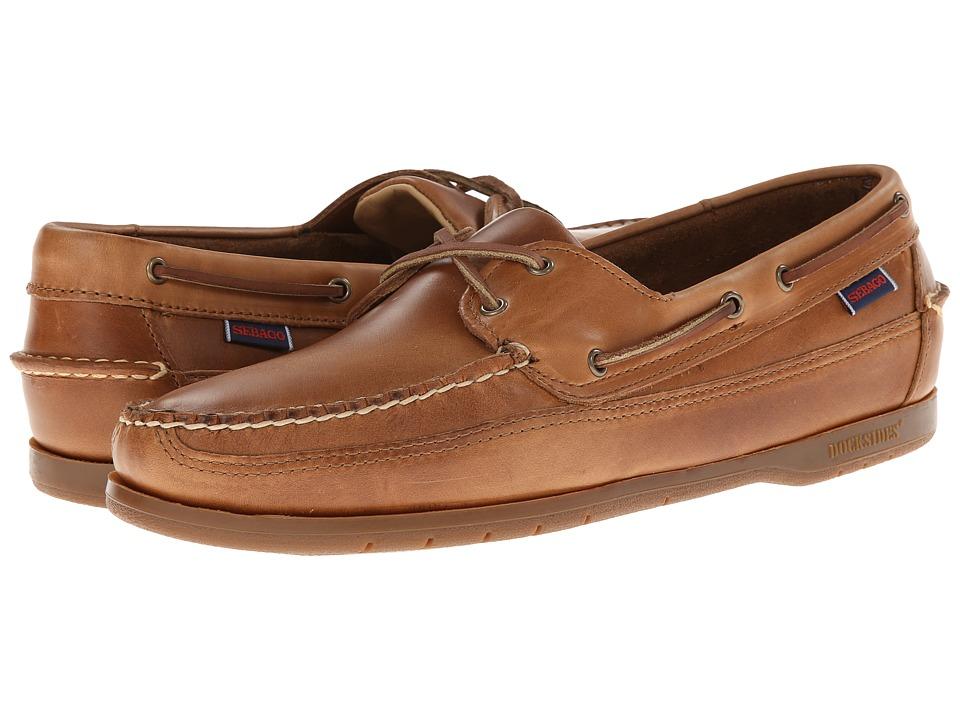 Sebago Schooner (Cognac Leather) Men's Shoes