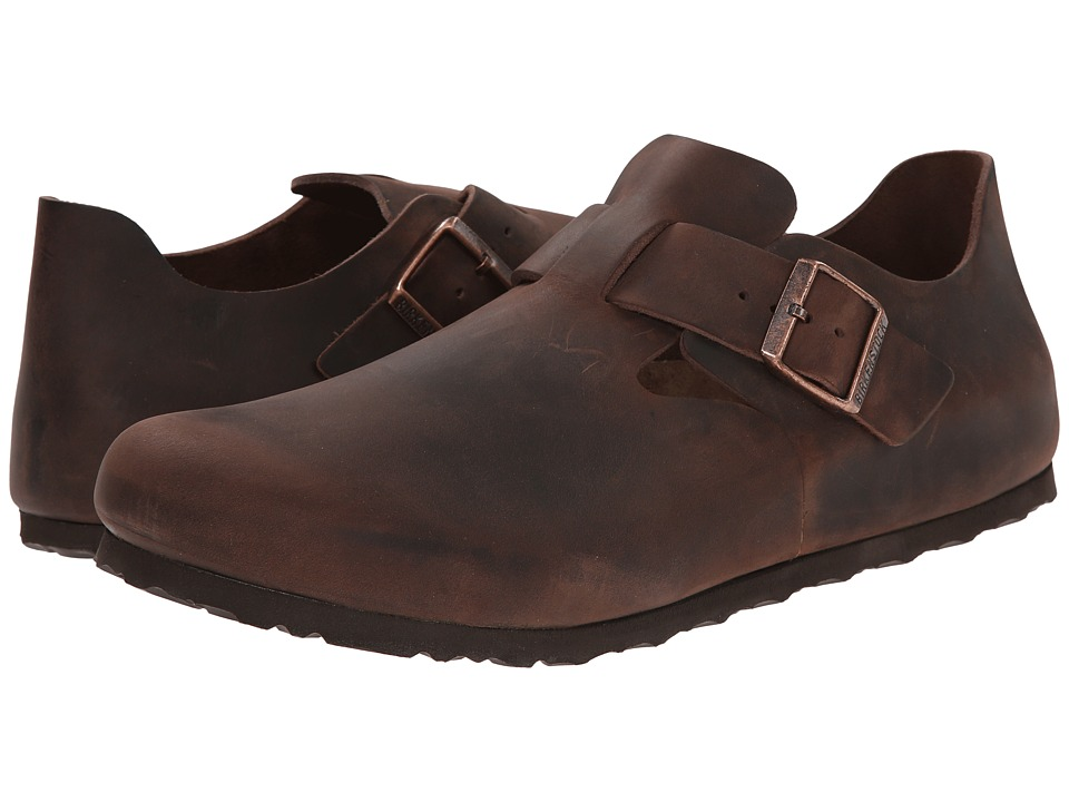 Birkenstock - London (Habana Oiled Leather 1) Slip on Shoes