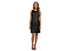 rsvp - Regan Dress (Black/Nude)