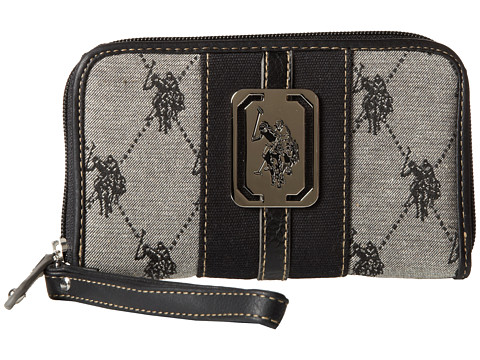 Check Price U.S. POLO ASSN. Uspa Saratogo Skins Pvc Cell Phone Wallet  Online Now! f2021f75cb0ee