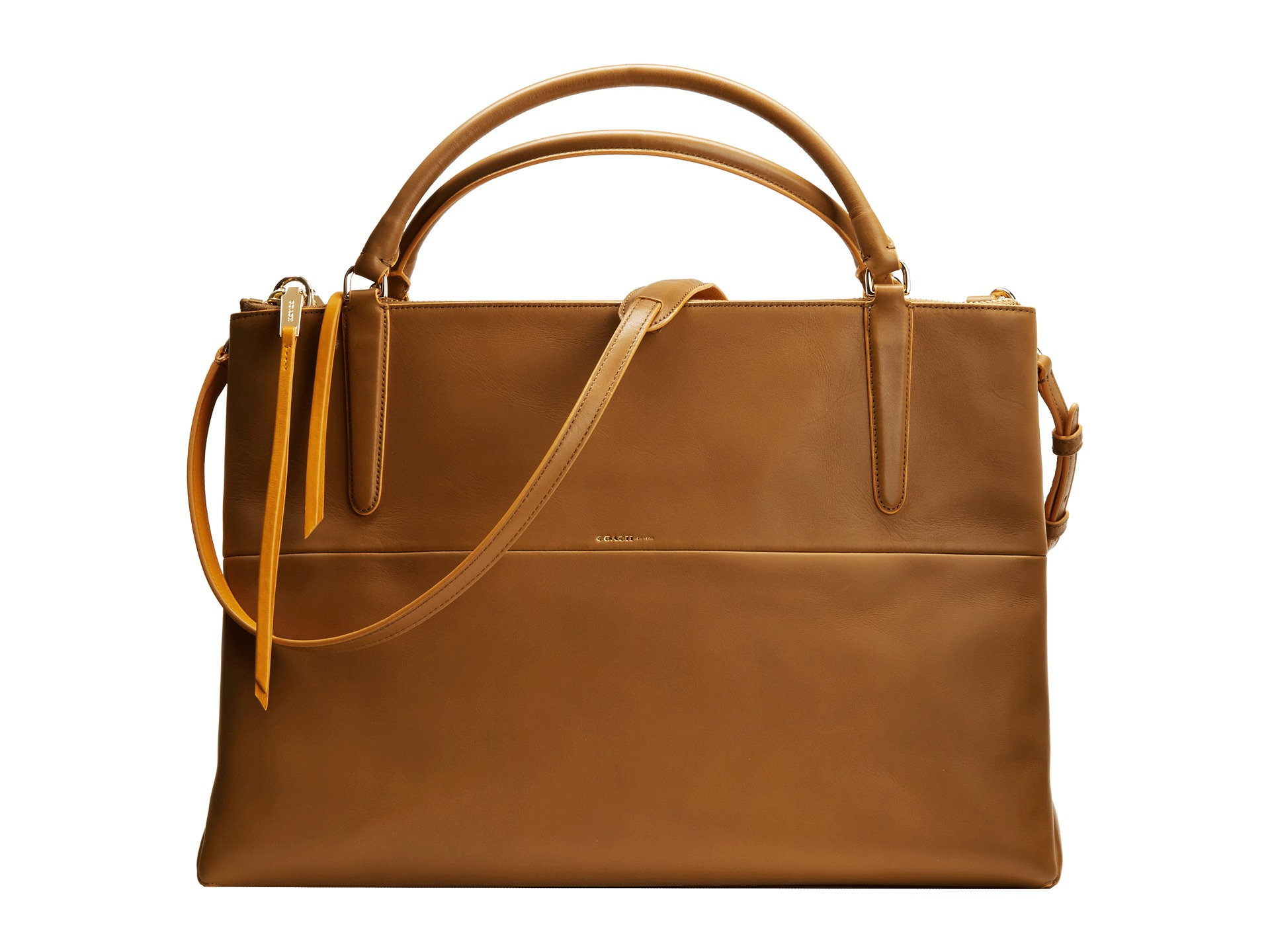 coach the large borough bag in edgepaint leather