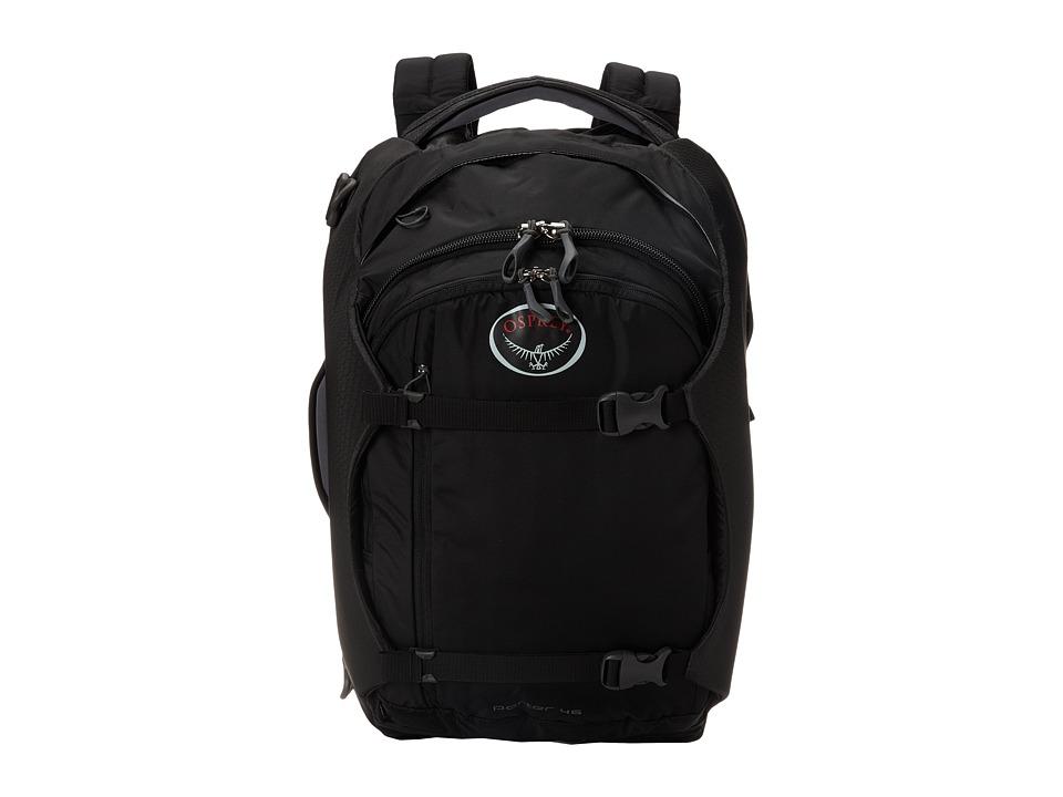 Osprey Porter 46 Black Backpack Bags