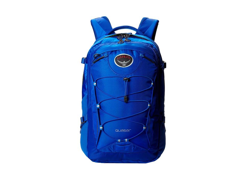 Osprey Quasar Pack Brilliant Blue Backpack Bags