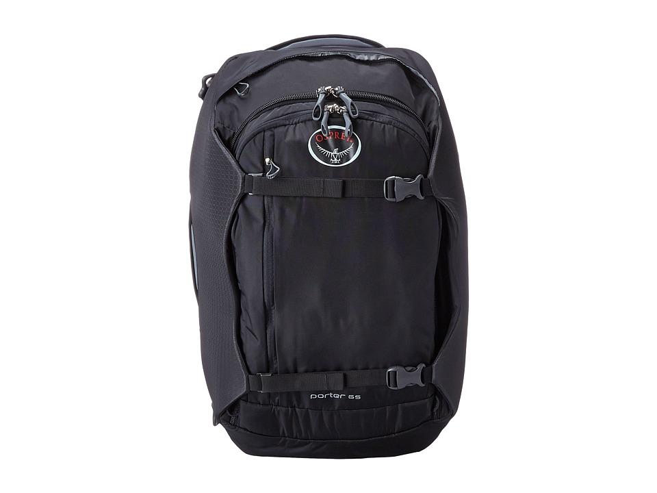 Osprey Porter 65 Black Backpack Bags