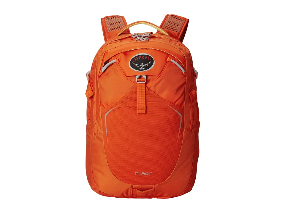 Osprey Flare Pack Habanero Orange Backpack Bags