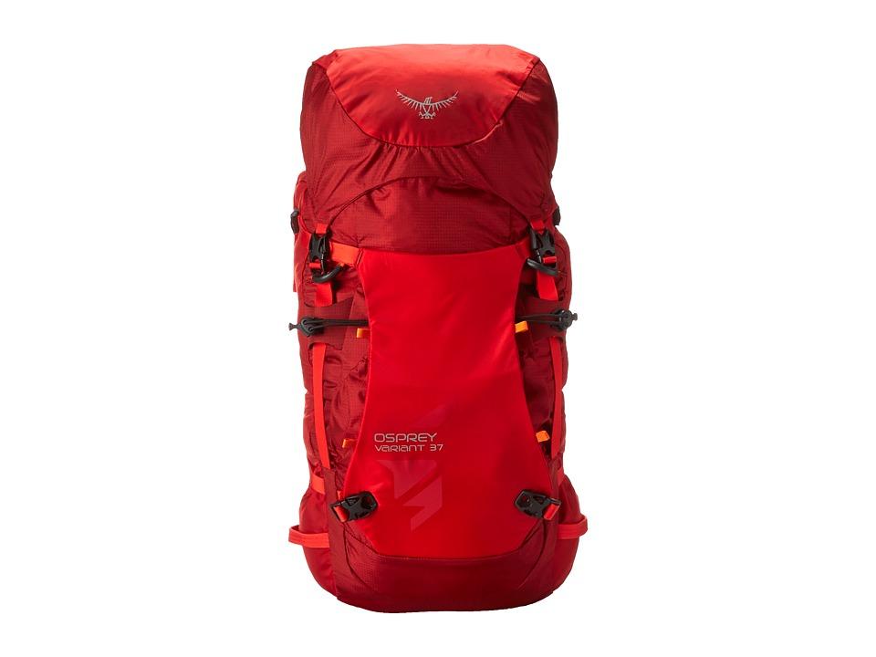 Osprey Variant 37 (Diablo Red) Backpack Bags