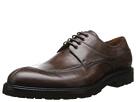 a. testoni - Scoiattolo Antique Calf Oxford w/ Lug Sole (Brown) - Footwear