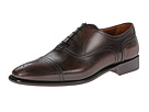 a. testoni - Fondente Perforated Oxford (Dark Brown) - Footwear
