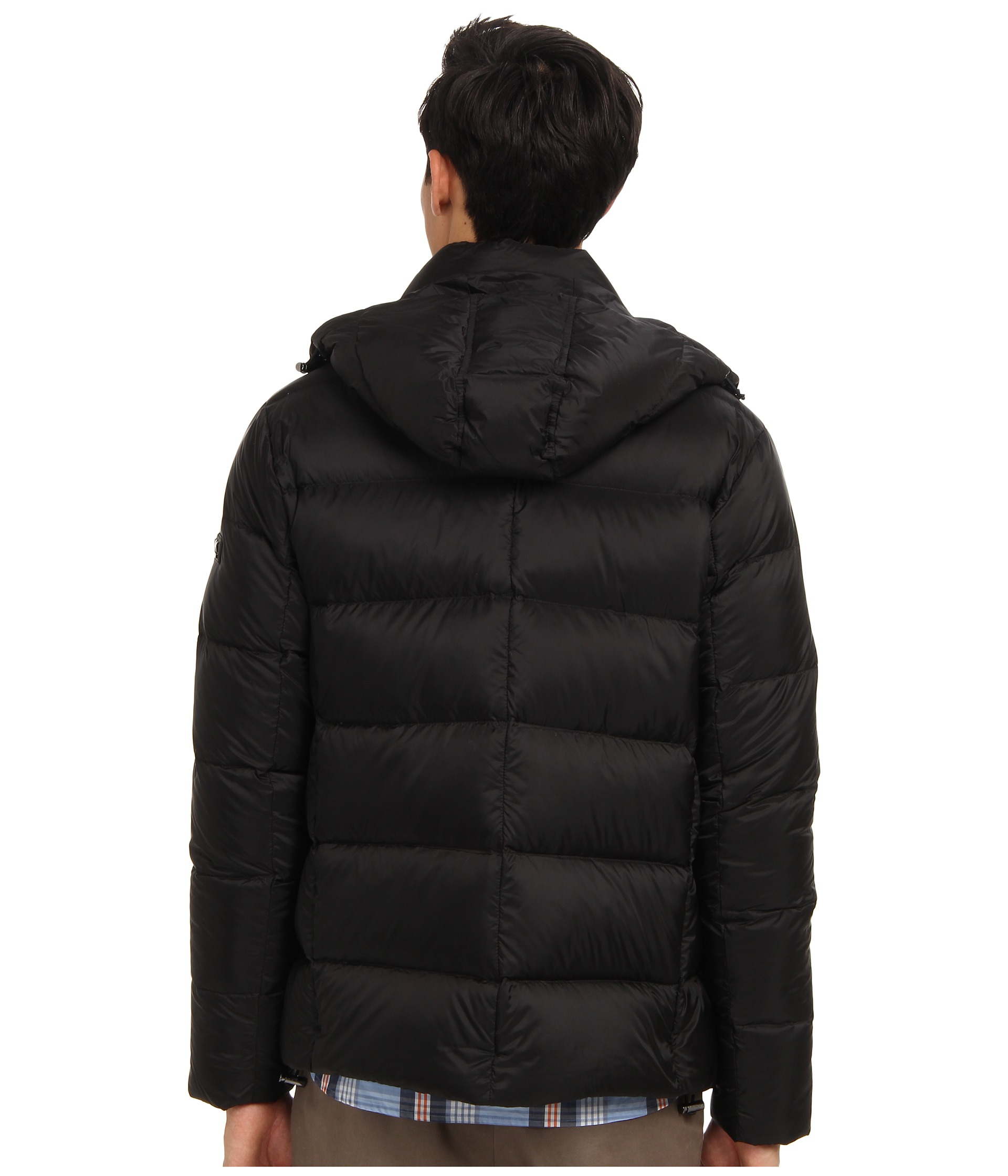 michael kors collection hooded down jacket shipped free at zappos. Black Bedroom Furniture Sets. Home Design Ideas