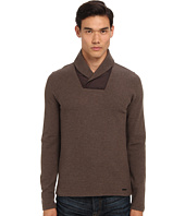 Michael Kors Collection - Waffle Shawl Pullover