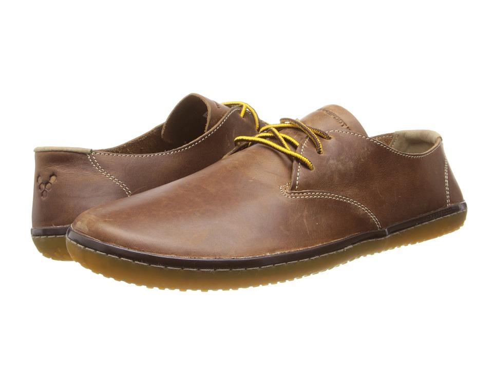 Vivobarefoot Ra II Tobacco Leather Hopewell Mens Shoes