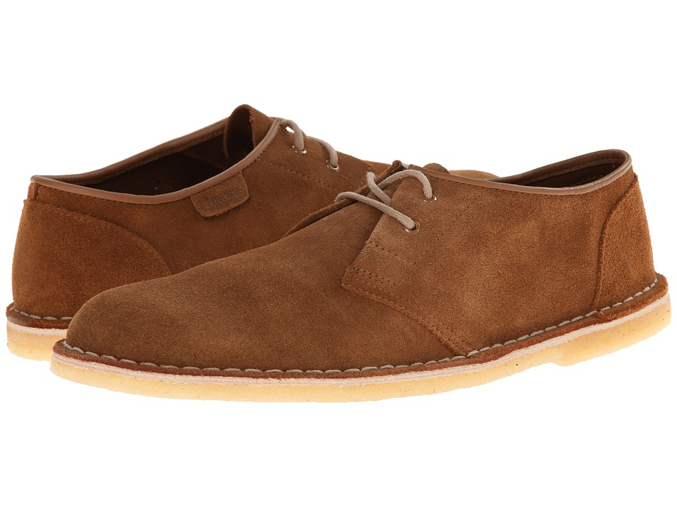 Clarks Jink Cola Suede Mens Lace up casual Shoes