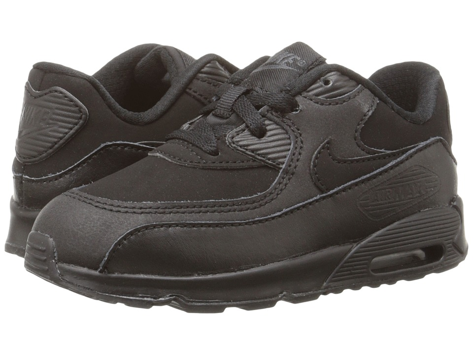 Nike Kids Air Max 90 Infant/Toddler Black/Dark Grey Boys Shoes