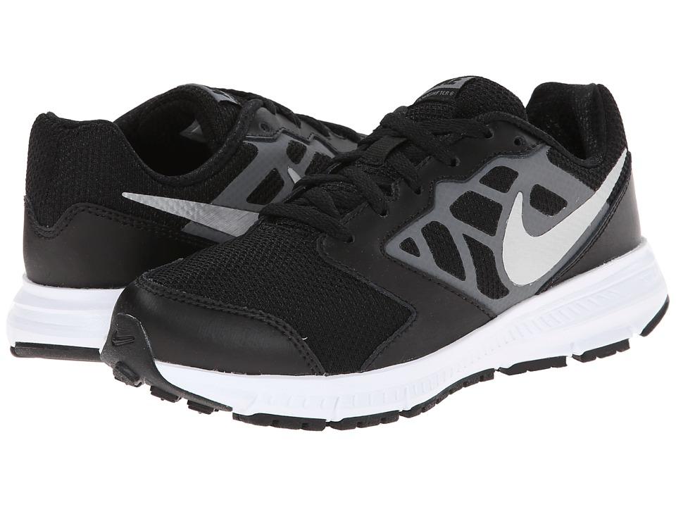 Nike Kids Downshifter 6 Little Kid/Big Kid Black/Cool Grey/White/Metallic Silver Boys Shoes