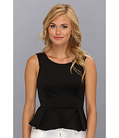 BCBGeneration - Neoprene Peplum Top