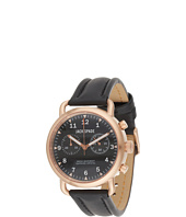 Jack Spade - Norton 2-Eye Chronograph Stainless Steel and Leather Watch