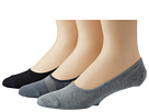 Sperry Top-Sider - Rugby Canoe Liner 3 Pack (Charcoal/High Rise)