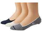 Sperry Top-Sider - Skimmers Feed Stripe 3 Pack (Navy/White) - Footwear
