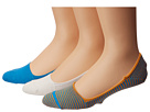 Sperry Top-Sider - Skimmers Feed Stripe 3 Pack (Methyl Blue/Zinnia)