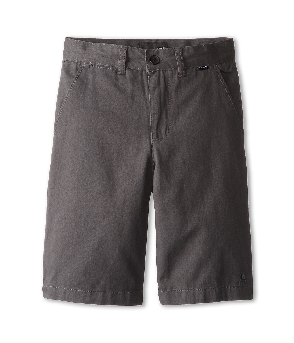 Hurley Kids - One Only Twill Short (Big Kids) (Coal) Boys Shorts