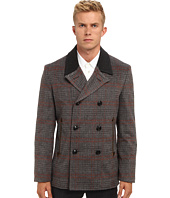 Marc Jacobs - Runway Check Pea Coat