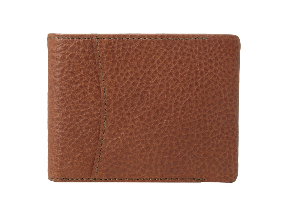 Bosca - Correspondent - Executive I.D. Wallet (Chestnut) Wallet Handbags