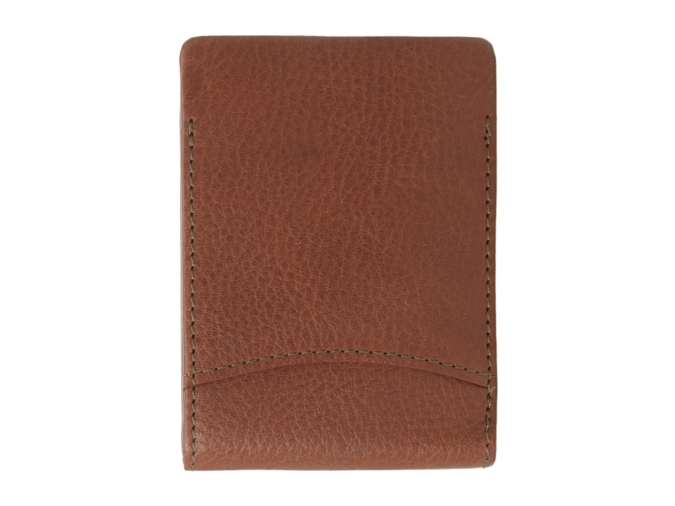 Bosca Correspondent Small Bifold Wallet Chestnut Bi fold Wallet