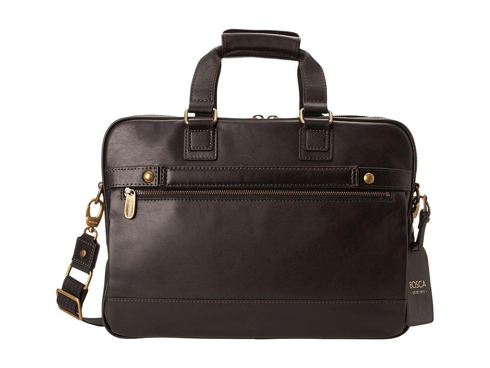 Bosca Taconni Stringer Bag (Black) Briefcase Bags