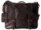 Bosca Taconni Messenger Bag (Black)