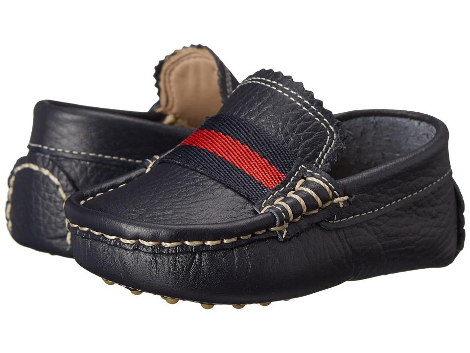 Elephantito Club Loafer Toddler Blue Boys Shoes