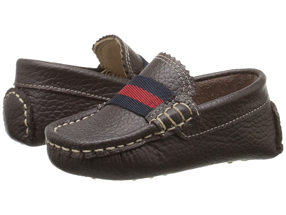 Elephantito Club Loafer Toddler Brown Boys Shoes