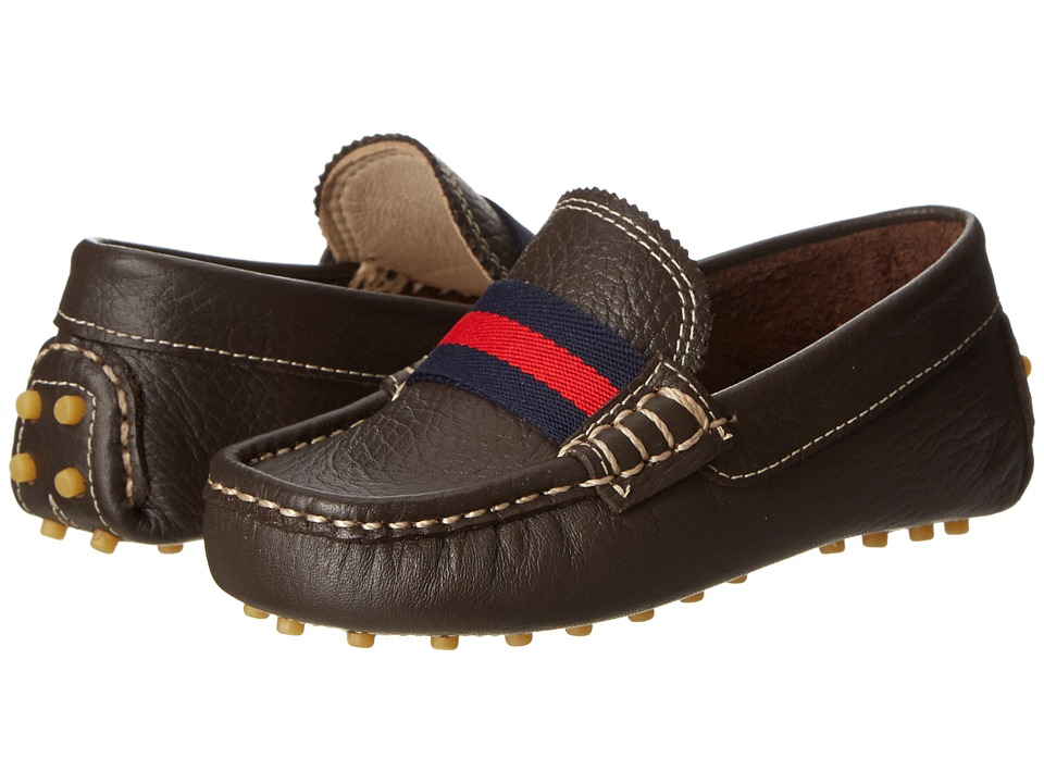 Elephantito - Club Loafer (Toddler/Little Kid/Big Kid) (Brown) Boys Shoes